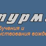 Штурман - Логотип